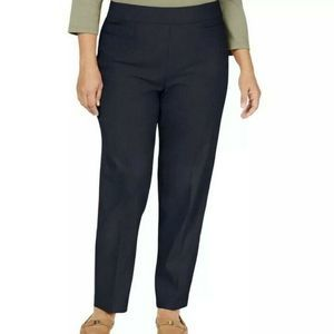 Alfred Dunner Straight Leg Pants Trousers Plus 20W